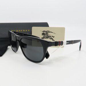 B 4319 3001/87 Burberry Glossy Black Sunglasses